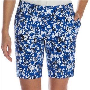 NWOT Mario Serrani Floral Spring-Summer Shorts 4